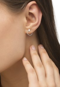 Heideman - OHRSCHMUCK LOOPING - Earrings - silver-colored polished - 0