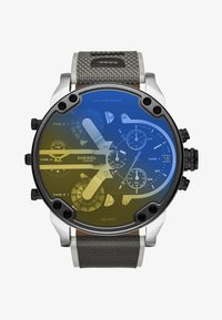Diesel - MR. DADDY 2.0 - Chronograph watch - black/grey/yellow - 1