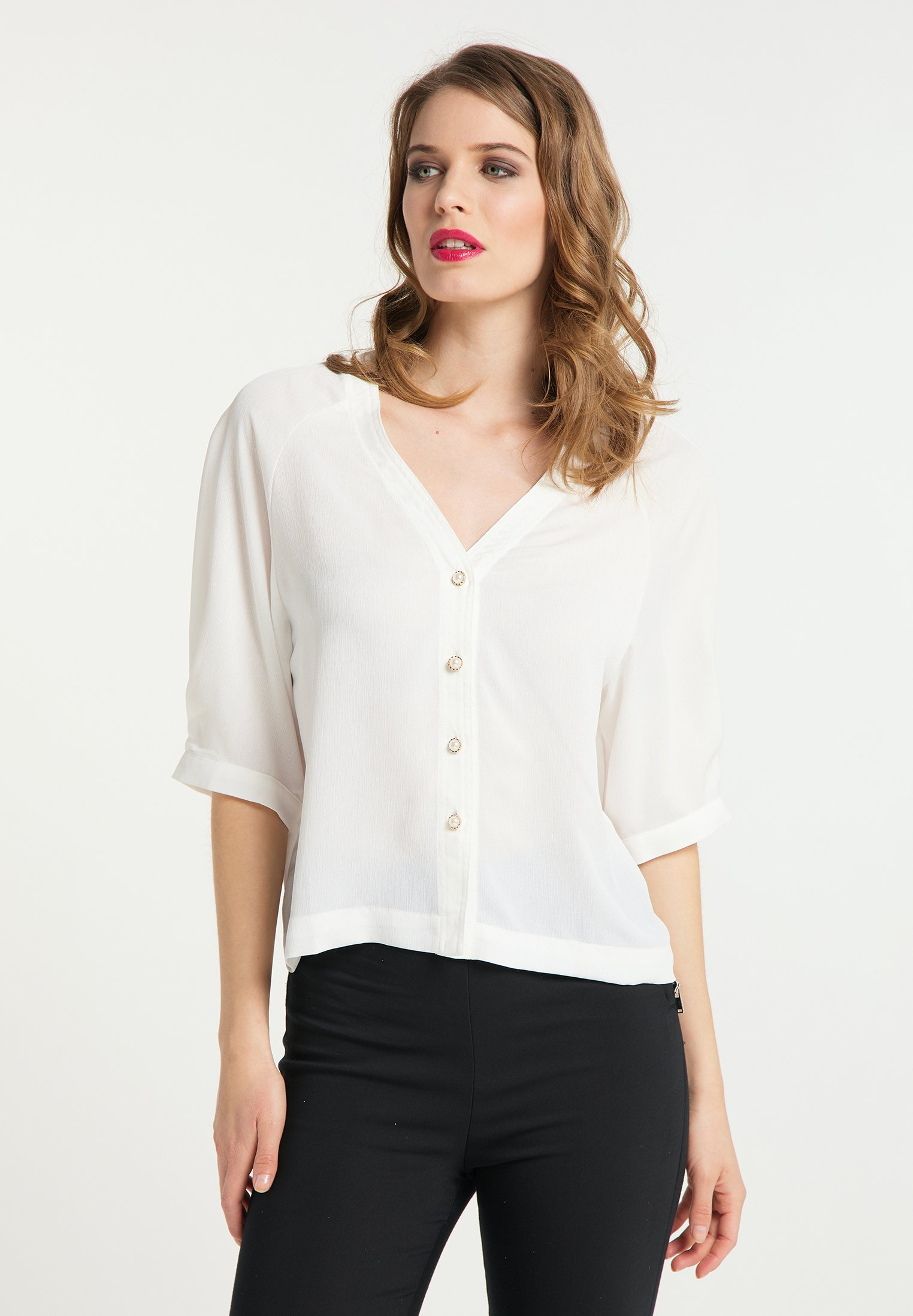 Inexpensive Women's Clothing faina Blouse weiss E2AWT9lo9