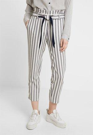 Kalhoty - white/blue