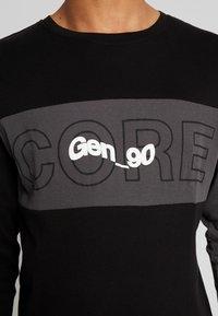 Jack & Jones - JCOBAMBOE TEE - Långärmad tröja - black - 4