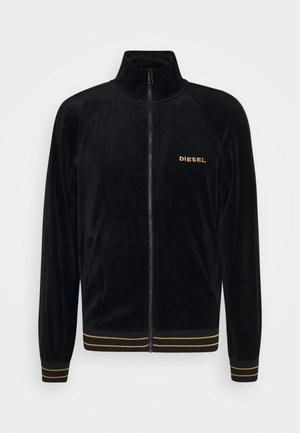 UMLT-MAX-CZ SWEAT-SHIRT - Huvtröja med dragkedja - black