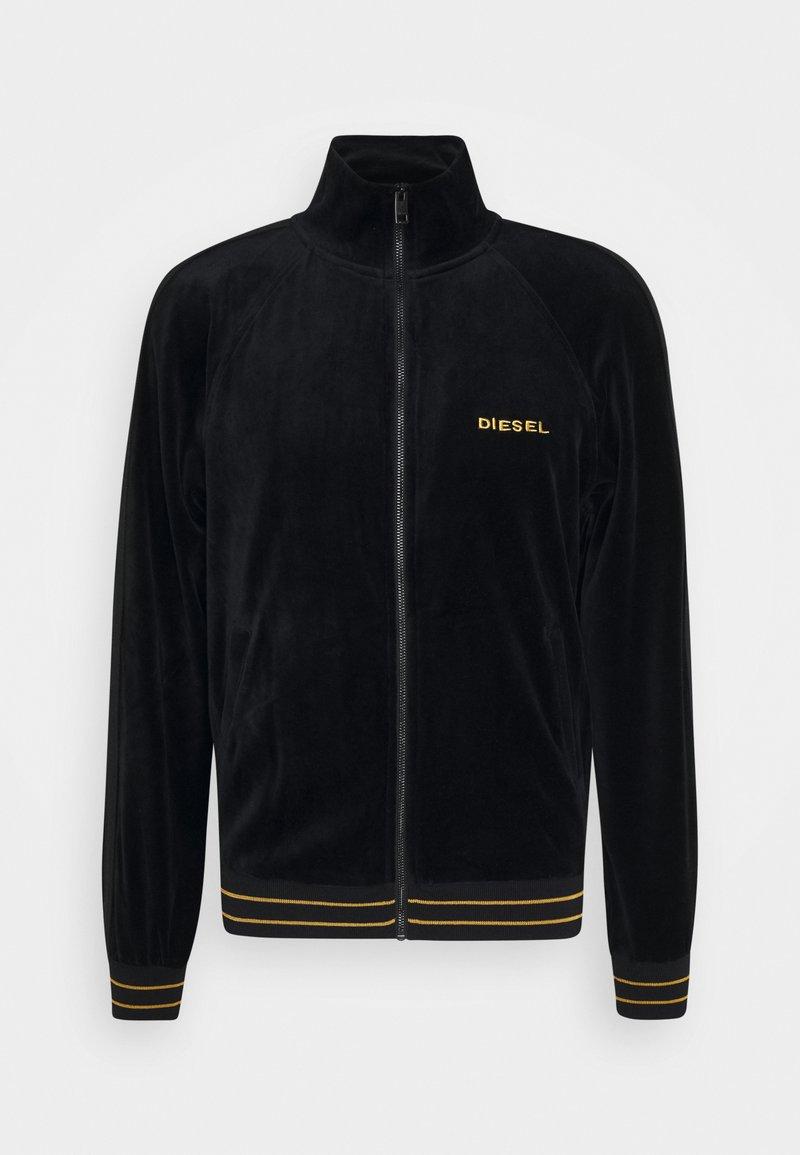 Diesel - UMLT-MAX-CZ SWEAT-SHIRT - Sweat à capuche zippé - black