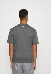 BOSS - BOSS X RUSSELL ATHLETIC - T-Shirt print - medium grey - 2