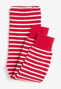 Next - CHRISTMAS APPLIQUÉ STRIPE - Pyjama set - red - 4
