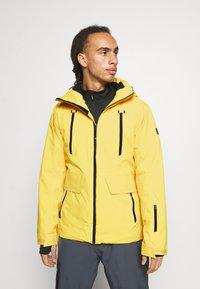 Brunotti - BORAN MENS SNOWJACKET - Snowboardová bunda - cyber yellow - 0