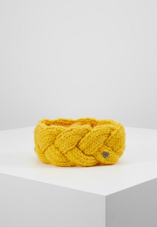 JACKIE HEADBAND - Oorwarmers - yellow