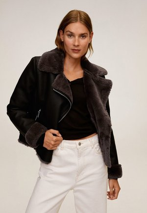 CADI - Faux leather jacket - schwarz