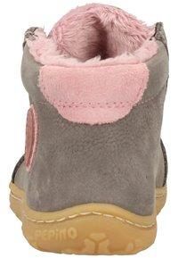 Pepino - Baby shoes - graphit/blush 452 - 3