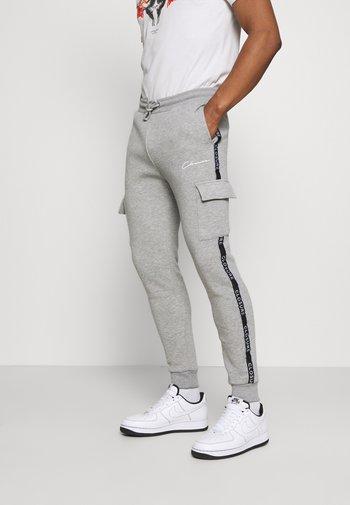 CONTRAST TAPEDUTILITY JOGGER - Pantaloni sportivi - grey
