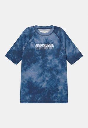 RASHGUARD - Rash vest - blue scrunch