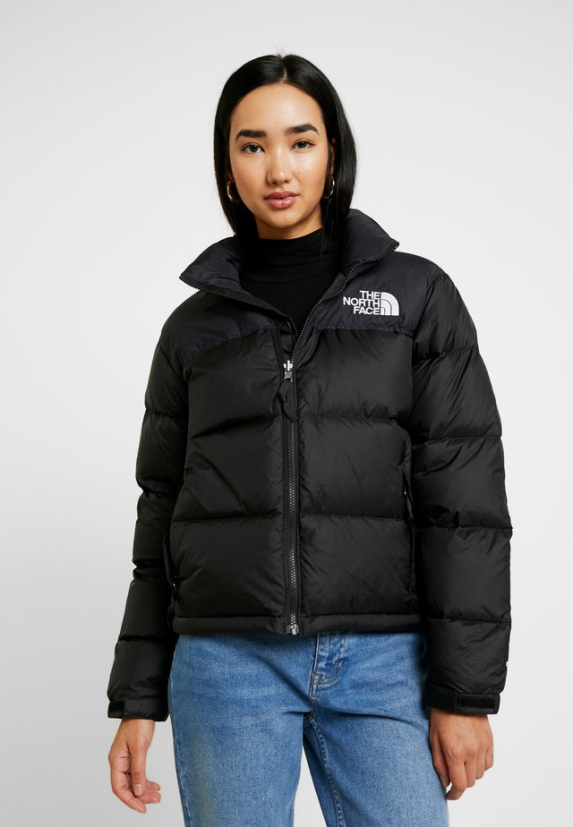 RETRO NUPTSE JACKET - Dunjakke - black