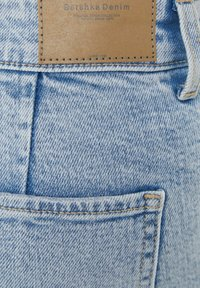 Bershka - Denim shorts - blue denim - 4