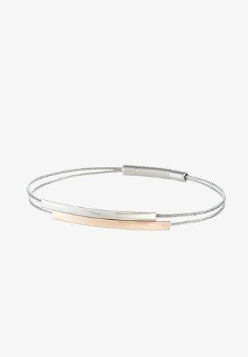 ELIN - Bracelet - silver-coloured/rosegold-coloured