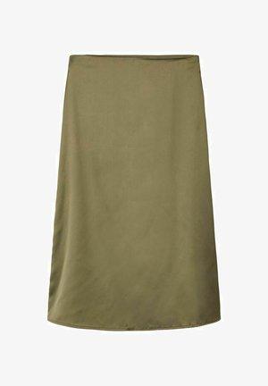 A-line skirt - ivy green