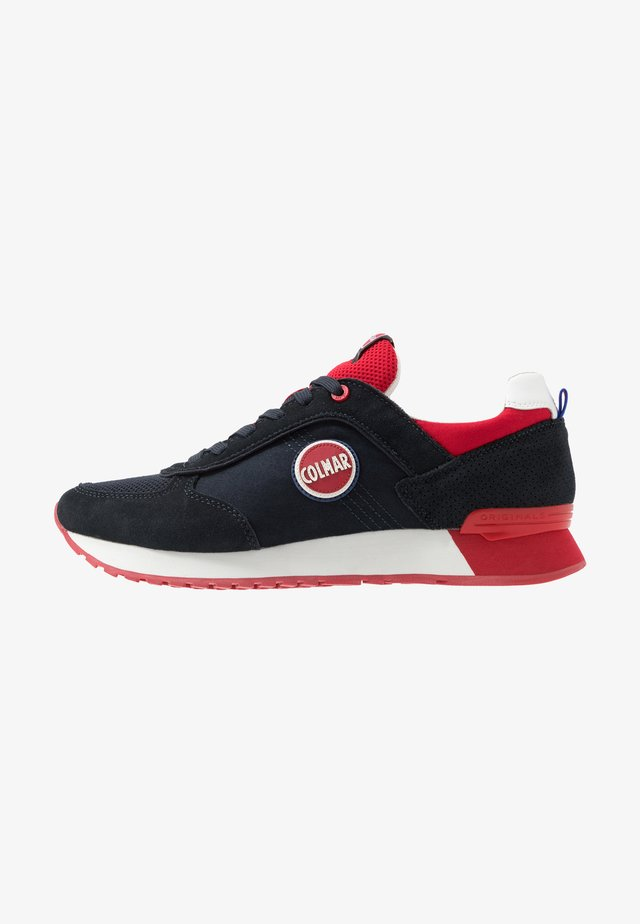 TRAVIS COLORS - Trainers - navy/red