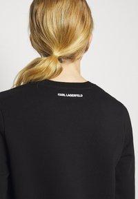 KARL LAGERFELD - 3D IKONIK CHOUPETTE  - Sweatshirt - black - 4