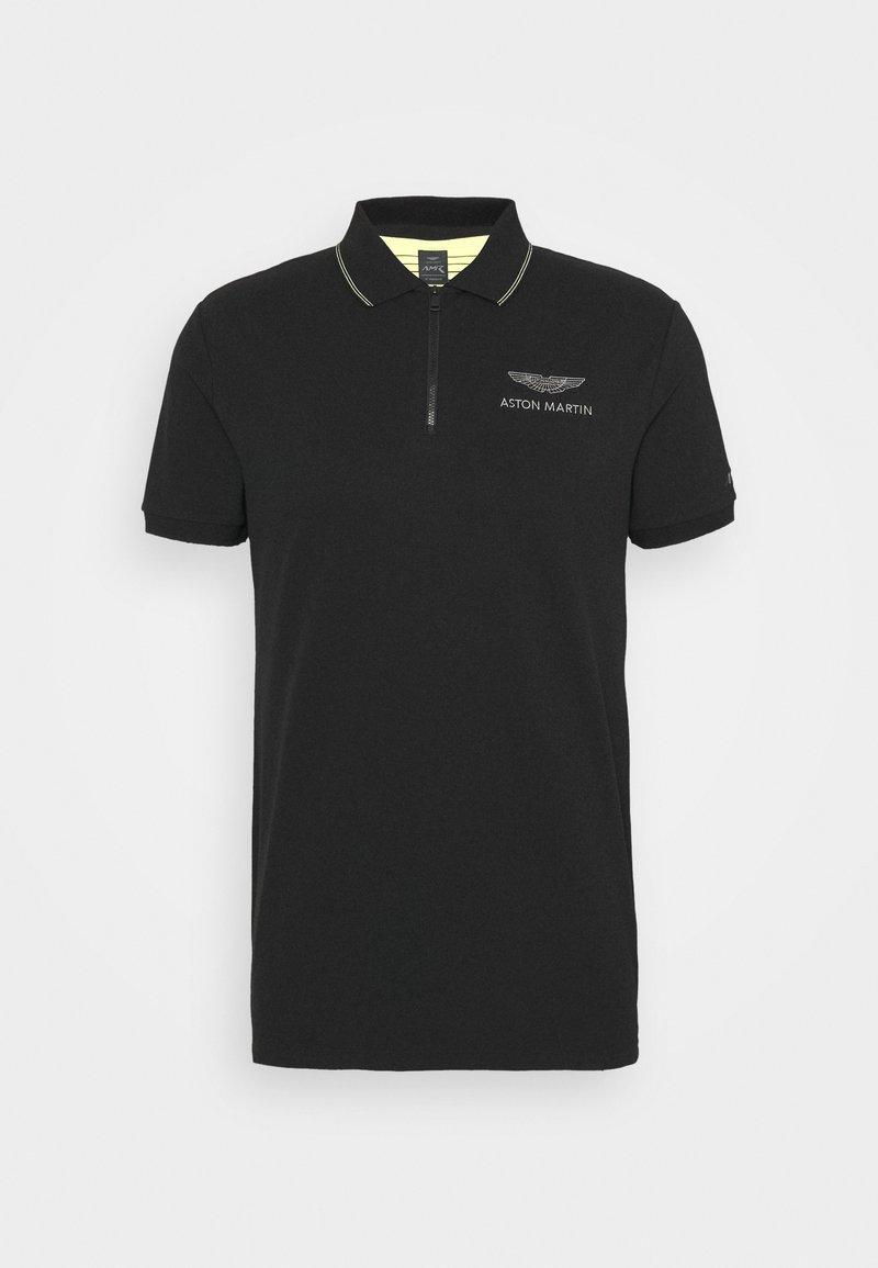 Hackett Aston Martin Racing Poloshirt Black Schwarz Zalando De