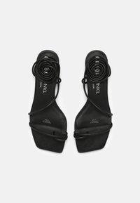Monki - T-bar sandals - black - 4