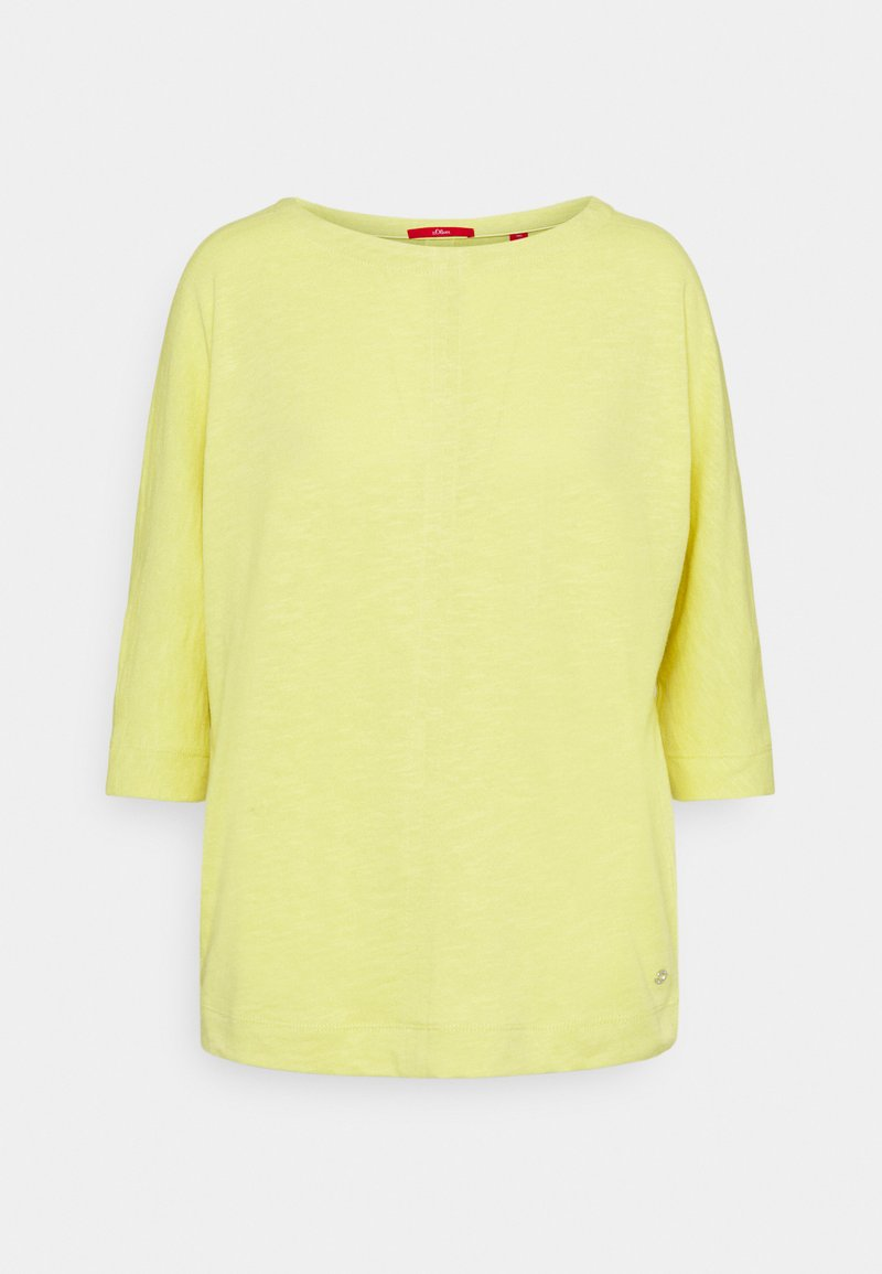 s.Oliver - Jumper - lime yello