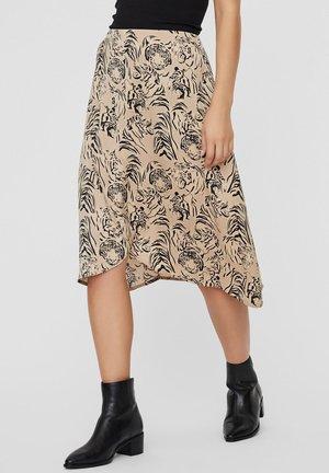ROCK  - A-line skirt - beige