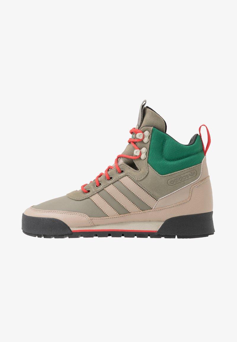 adidas Originals - BAARA - Höga sneakers - trace khaki/trace carbon/core black