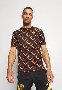 Nike Performance - AS ROM  - Club wear - black/university gold - 0