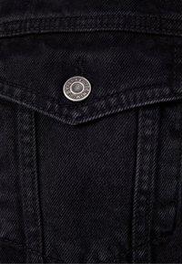 Bershka - Denim jacket - black - 5