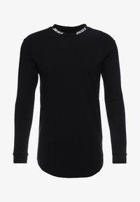 SIKSILK - TURTLE NECK - Camiseta de manga larga - black - 3