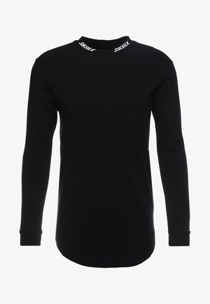 TURTLE NECK - Camiseta de manga larga - black