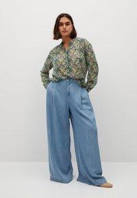 Violeta by Mango - AURELIA - Button-down blouse - grün - 1