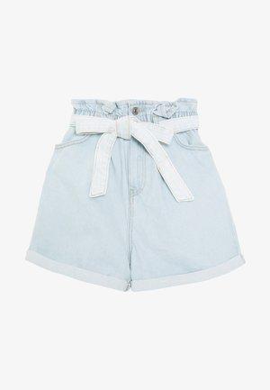 FREDDIE PAPERBAG - Shorts vaqueros - blue