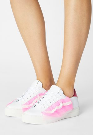 TULLE TOP - Sneakers basse - white