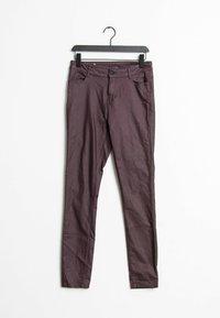 Vila - Trousers - purple - 0