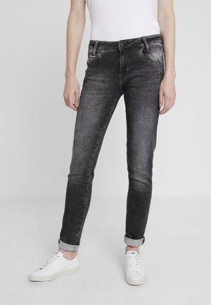ADRIANA - Jeans Skinny - grey crashed sporty
