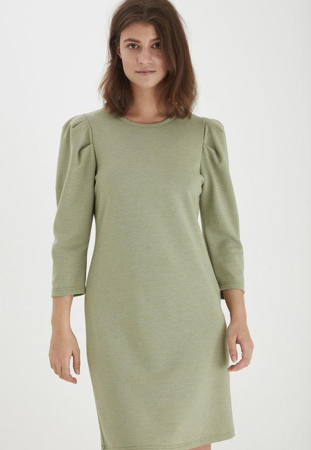 Vestito di maglina - oil green