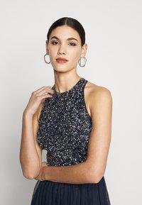 Lace & Beads Tall - SANIA TALL - Koktejlové šaty/ šaty na párty - navy - 3