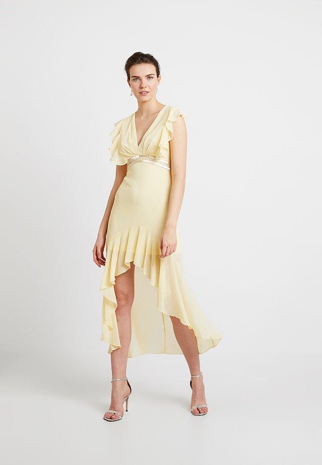 NISHA MAXI - Vestido de fiesta - pastel yellow