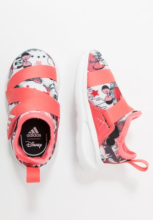 FORTARUN X MINNIE  - Scarpe running neutre - footwear white/semi fluo red/coreblack