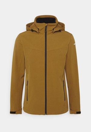 BRIMFIELD - Soft shell jacket - fudge