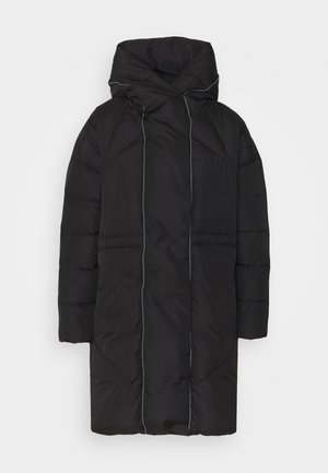 VICAMISA COAT - Kabát zprachového peří - black