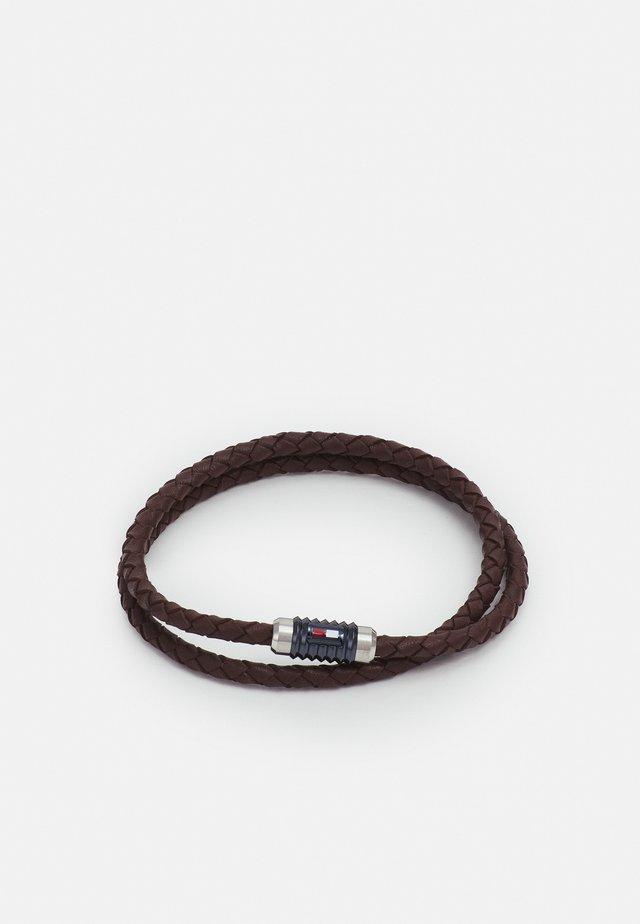 DOUBLE WRAP BRACELET  - Náramek - brown