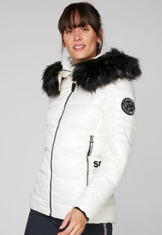 Winter jacket - snow white