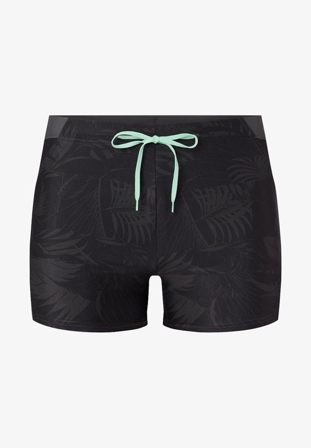 Badeshorts - black and grey