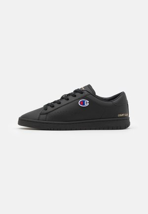 LOW CUT SHOE COURT CLUB PATCH - Sportovní boty - new black