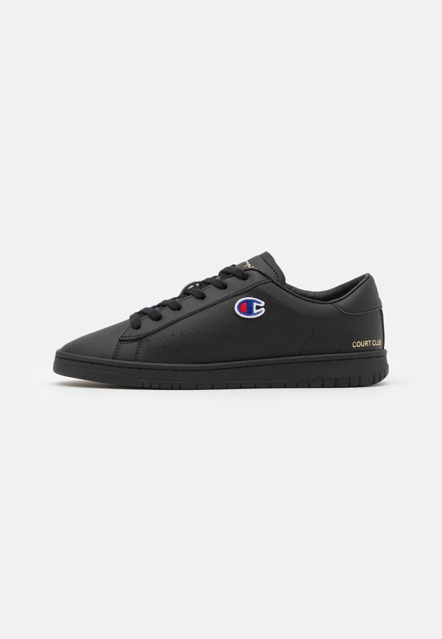 LOW CUT SHOE COURT CLUB PATCH - Sportschoenen - new black