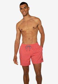 Protest - SHARIF - Swimming shorts - deep coral - 4