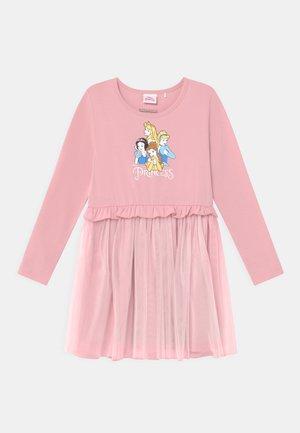 DISNEY PRINCESSES KID - Jersey dress - rose