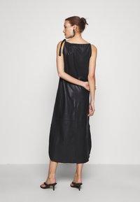 DEPECHE - LONG DRESS - Denní šaty - black - 2