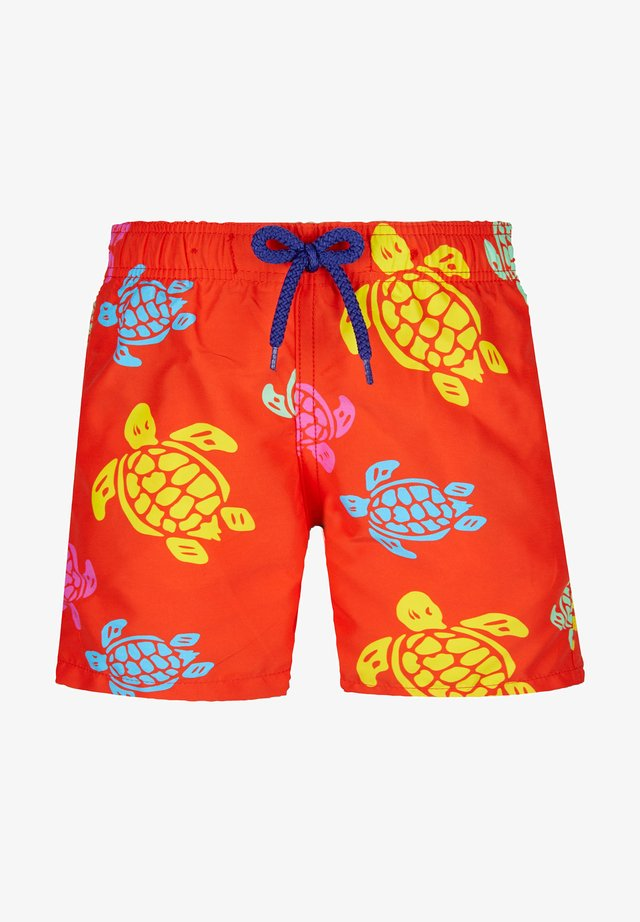 TORTUES MULTICOLORES MEDLAR - Short de bain - orange